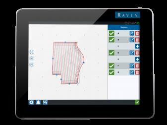 ISOBUS Навигационна система марка  Raven модел CR12