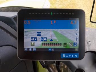 ISOBUS Навигационна система марка  Raven модел CR7