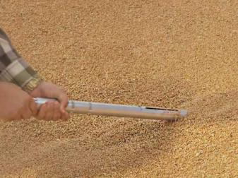 Сонда за вземане на проби от зърно