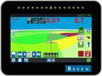 ПРОМОЦИЯ ❗❗❗Система за Автоматично Управление на Трактор с Навигационна система  марка Raven модел CR7 и мотор SmarTrax MD - RS1 - 3-5 СМ